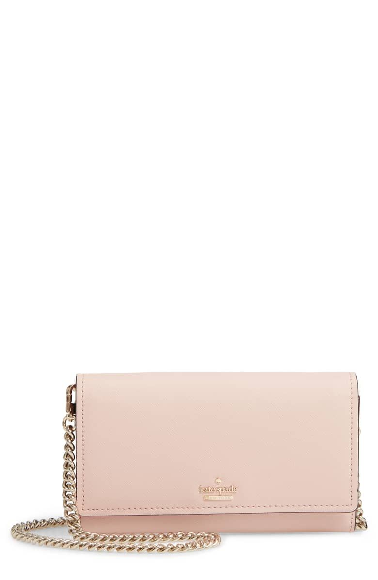 8c0e01cb6bc cameron street - franny leather wallet on a chain