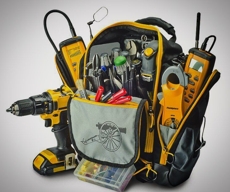 Can You Really Ever Have Enough Tools From Fieldpiece Instruments Check Out The New Bg44 Tool Bag Hvac Hvacr Hvactech Hvacservice Heat Air