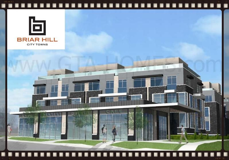 Briarhillcitytowns Is A New Mixed Use Townhouse And Commercial