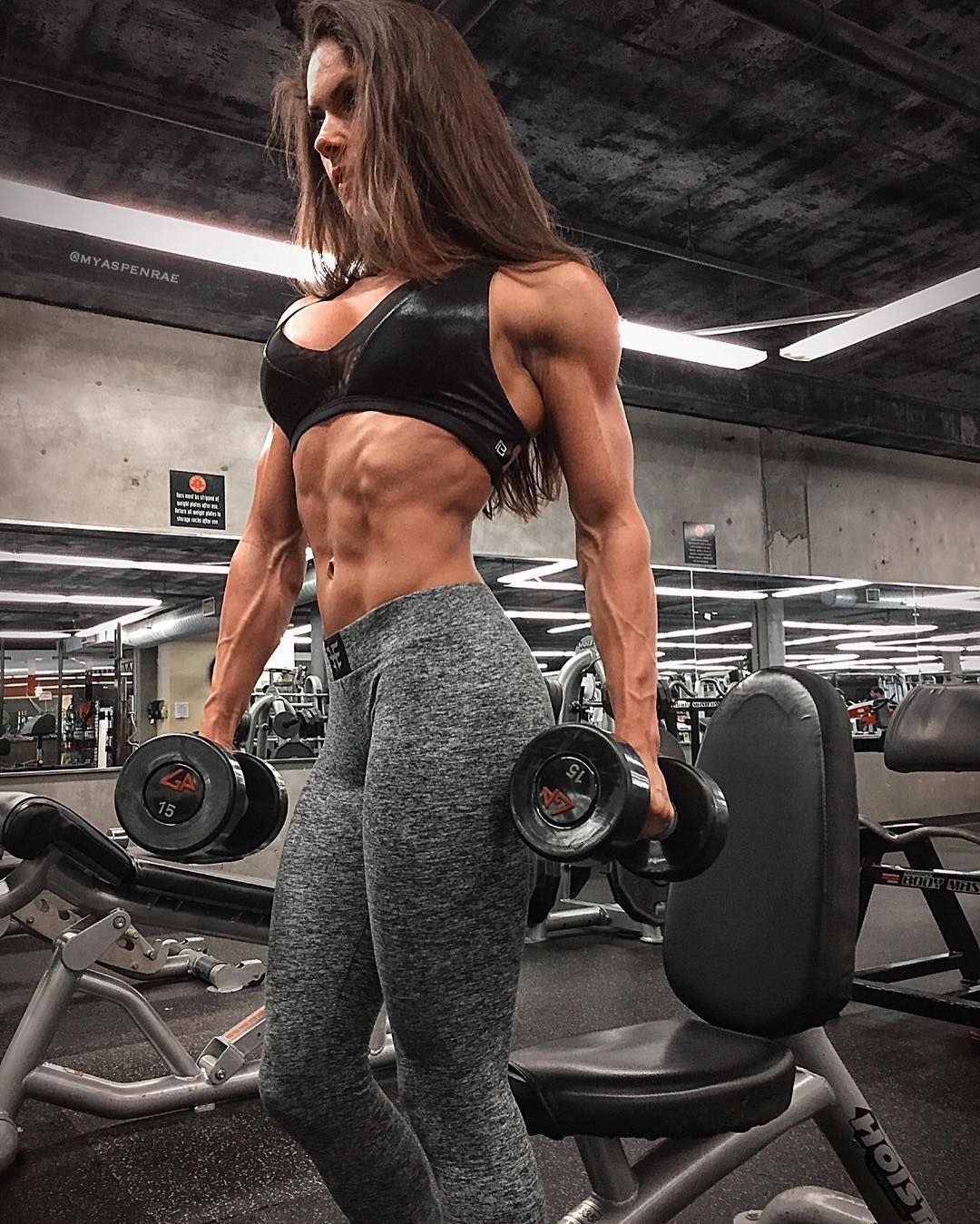 Aspen Rae | Muscle Girls | Pinterest