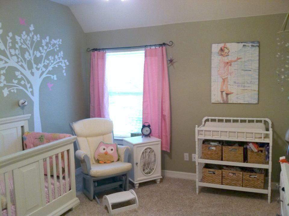 vivi's new pink and green owl bedroom  owl bedrooms