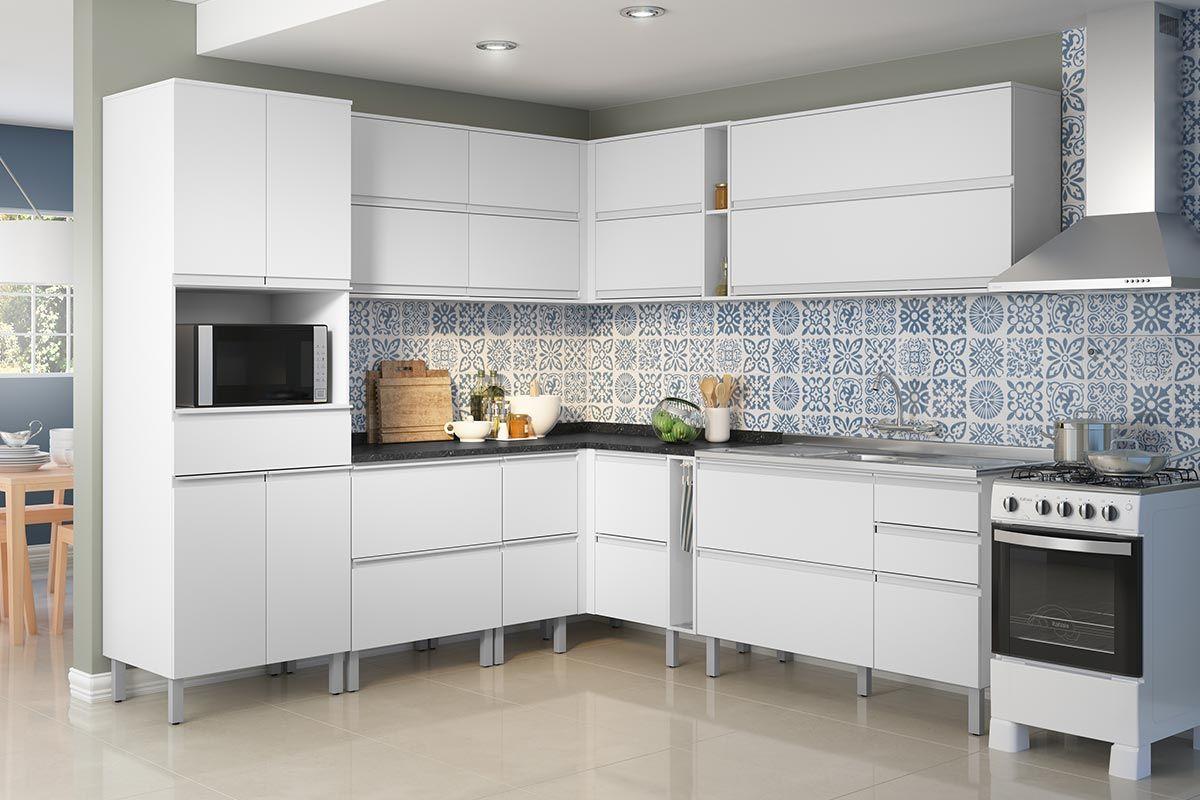 Cozinha Completa Itatiaia Bel Ssima Plus De Madeira C 13 Pe As Cz83