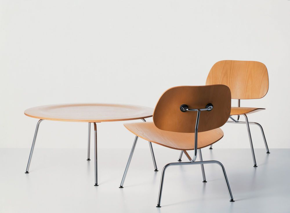 CTM Coffee Table by Ray & Charles Eames for Vitra, 1970s for