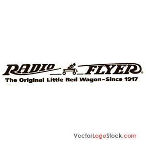Radio Flyer logo, trying to restore an old radio flyer