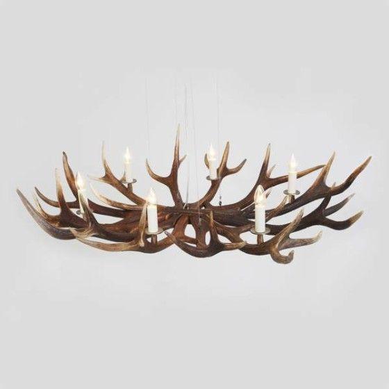 geweihleuchter montana kronleuchter aus hirschgeweih lampen leuchten pinterest. Black Bedroom Furniture Sets. Home Design Ideas