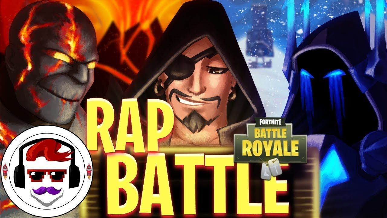 Fortnite Season 8 Ice King Vs Fire King Vs Pirate Rap Battle Rockit Ice King Fortnite Rap Battle