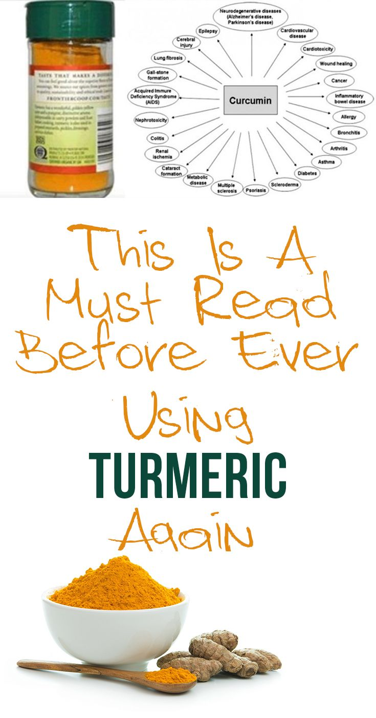 Image result for This Is A Must Read Before Ever Using Turmeric Again pinterest
