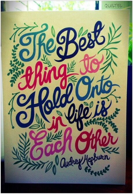 Quote Paintings Unique Audrey Hepburn Quote Painting  Lettering And Layouts  Pinterest