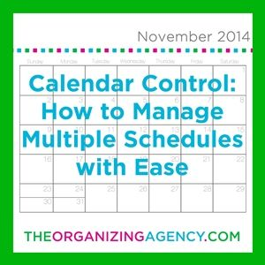Calendar Control: How To Manage Multiple Schedules With Ease