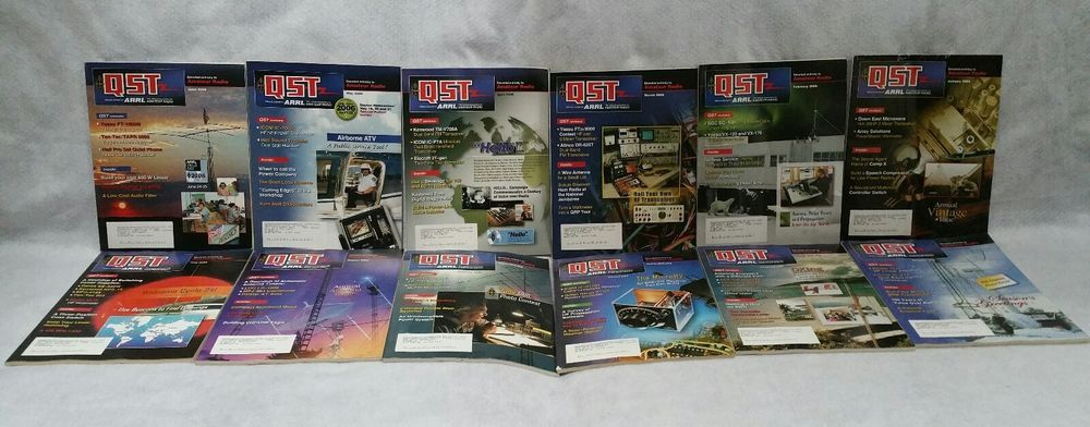 Details about Vintage 2006 QST Amateur Radio Magazine Lot of