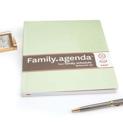 FamilyAgenda Buttoned Up Inc  Organize  Products