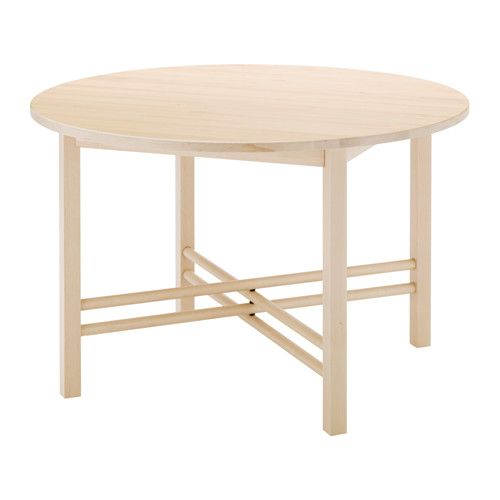 BjÖrksnÄs Dining Table Ikea Solid Wood Is A Hardwearing Natural Material That Can Take The Wear And Tear Of Everyday Use
