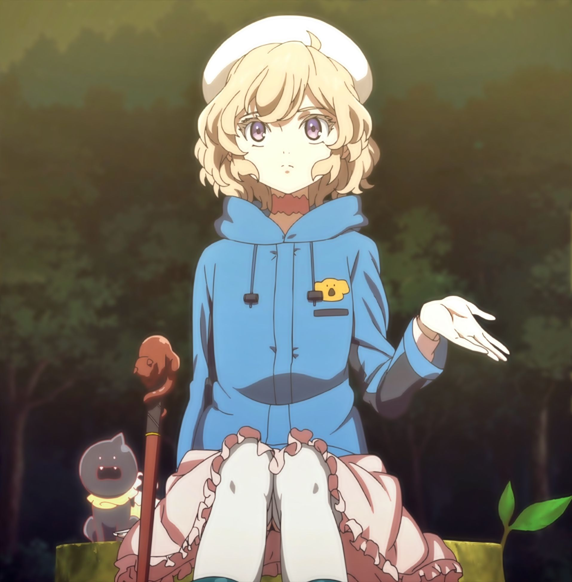 Iwanaga Kotoko Kyokou Suiri (In/Spectre) em 2020 Anime
