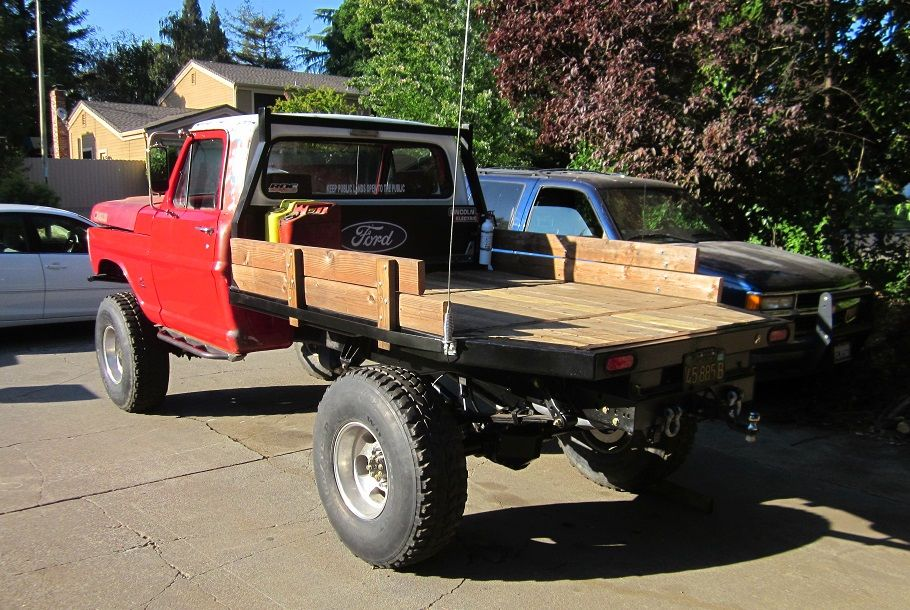 1969 F250 4x4 Highboy Project Truck Flatbeds Old Ford Trucks