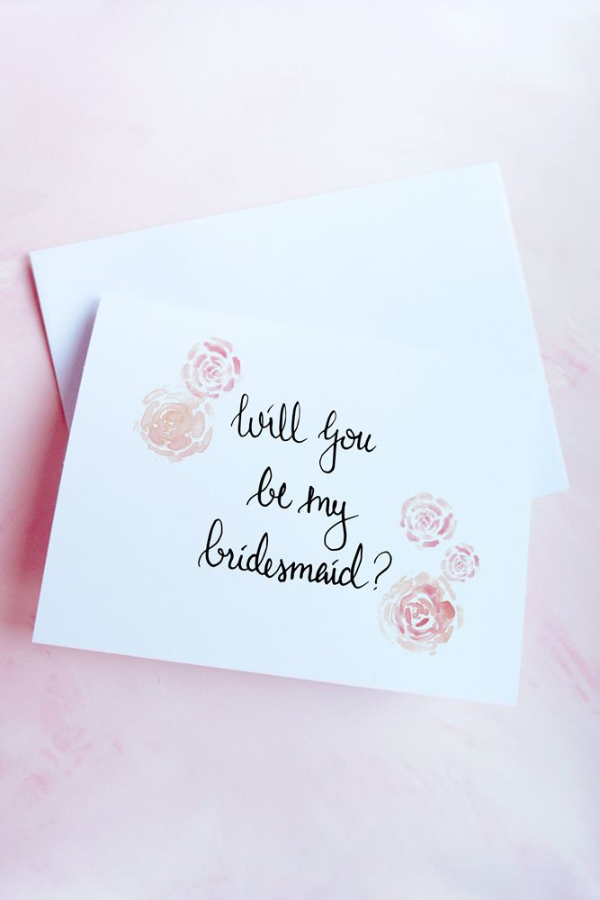 bridesmaid card how to ask your bridesmaids will you be