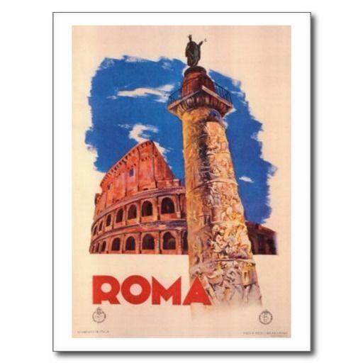 Roma - cartolina vintage
