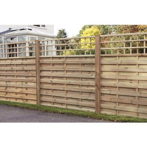 Wickes Hertford Fence Panel - 6 x 6ft