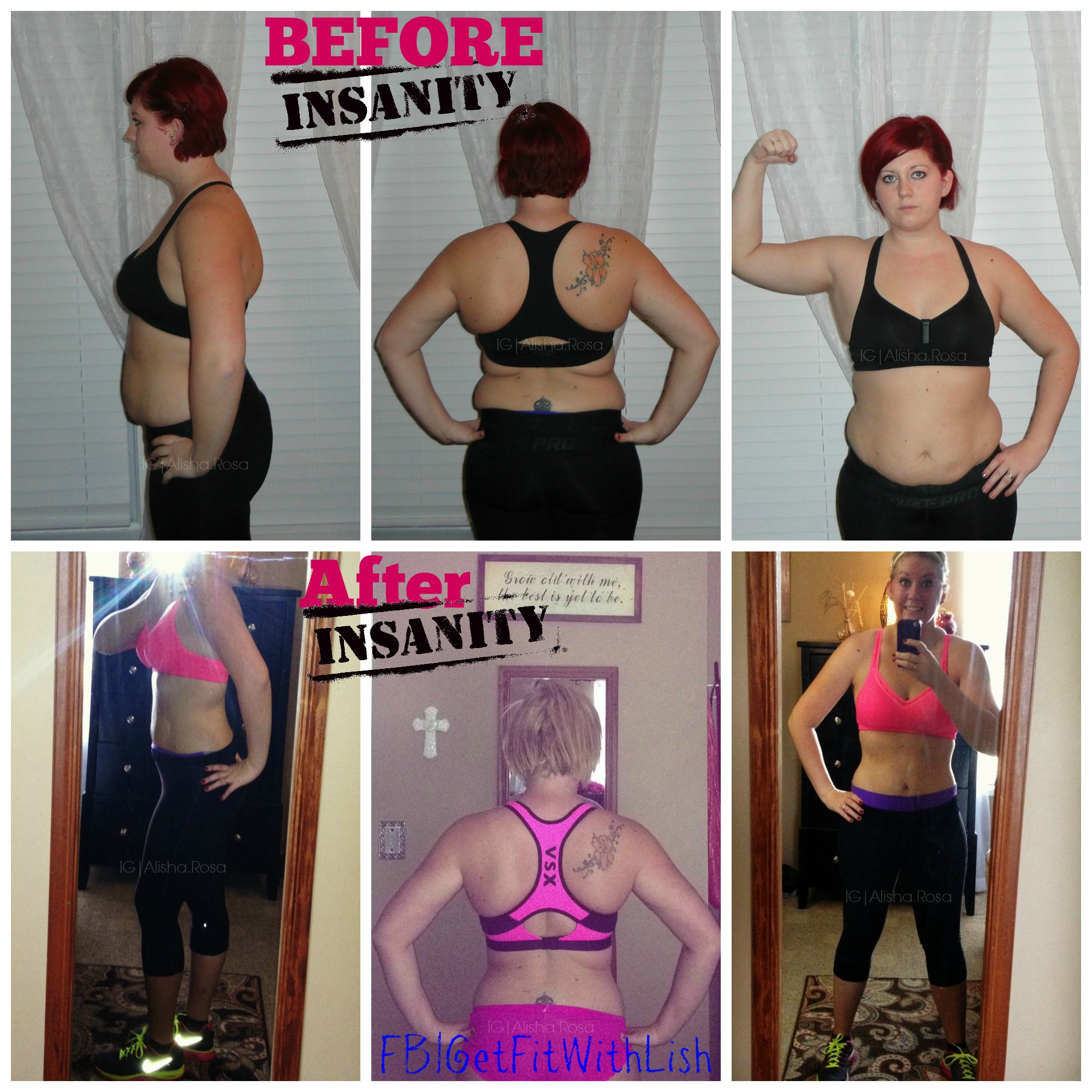 how to lose weight doing insanity