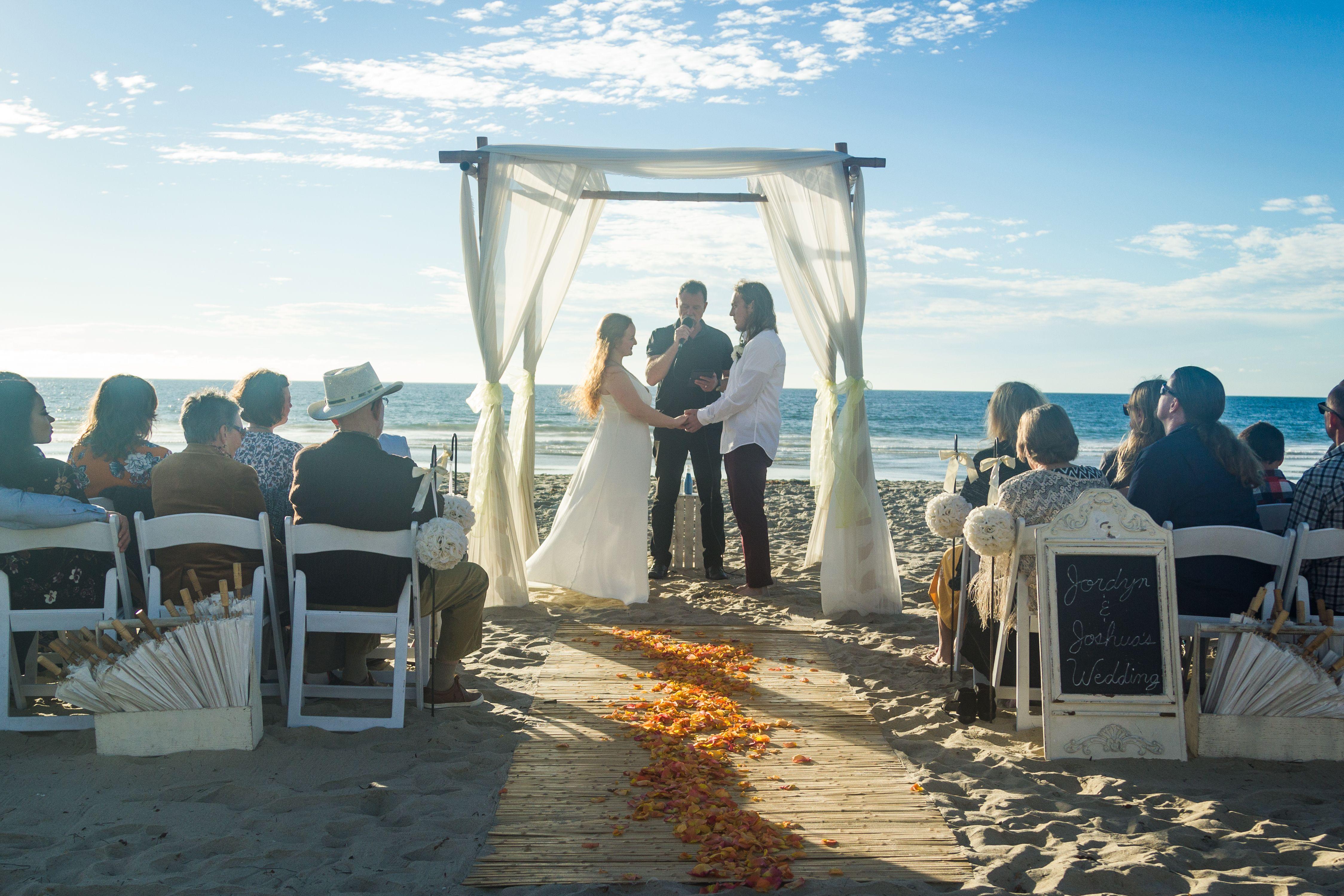 Mission Beach San Diego Dream Beach Wedding San Diego Wedding Locations Beach Wedding Packages