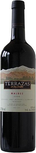 Terrazas De Los Andes Malbec 75cl Cheers Malbec Red