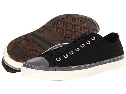 cc13cfe6d055 Converse Chuck Taylor® All Star® LP II Ox Black Charcoal Gray - Zappos.com  Free Shipping BOTH Ways