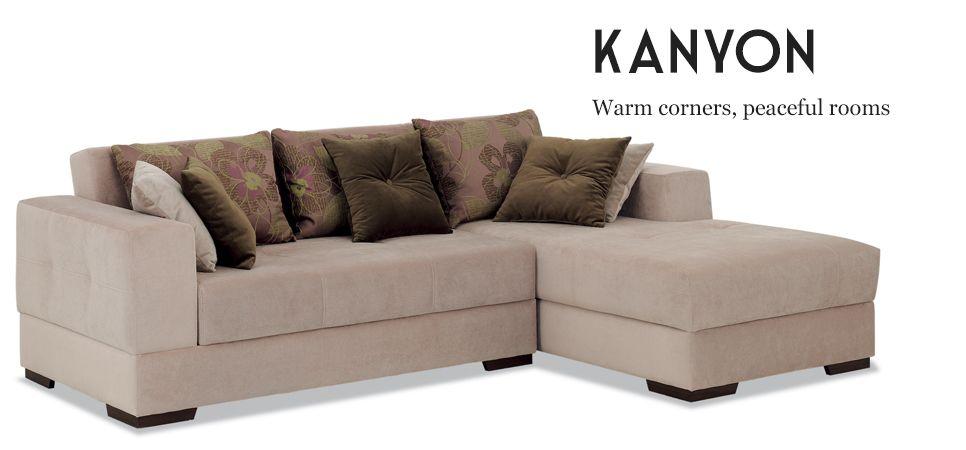 Kanyon Corner Sofa Bed