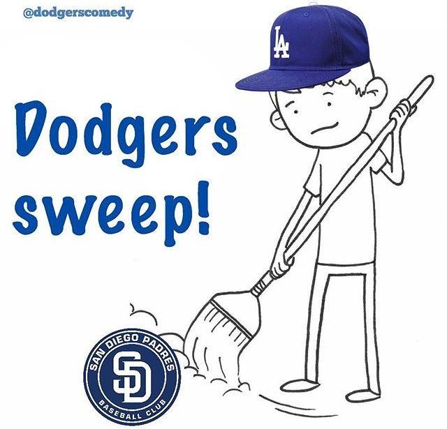 Dodgers Sweep Padres Dodgers Girl Dodgers Dodgers Baseball