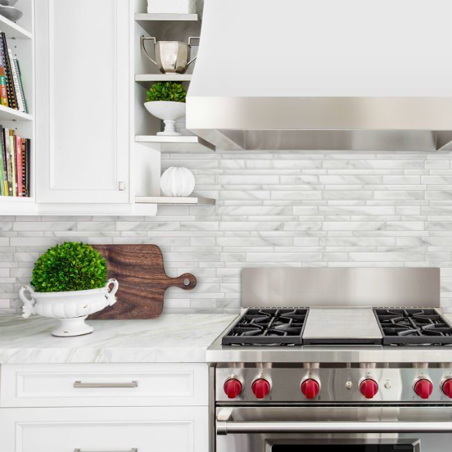 14 Removable Backsplashes For A Temporary Fix In The Kitchen Diy