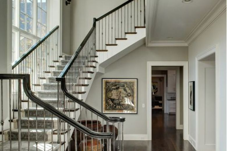 Charmant Image Result For Brushed Nickel Balusters Brushed Nickel, Entryway,  Moulding, Stairs, Appetizer