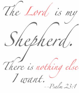 All I want is You JESUS! Psalm 23 | BLANCA! | Psalms, Psalm