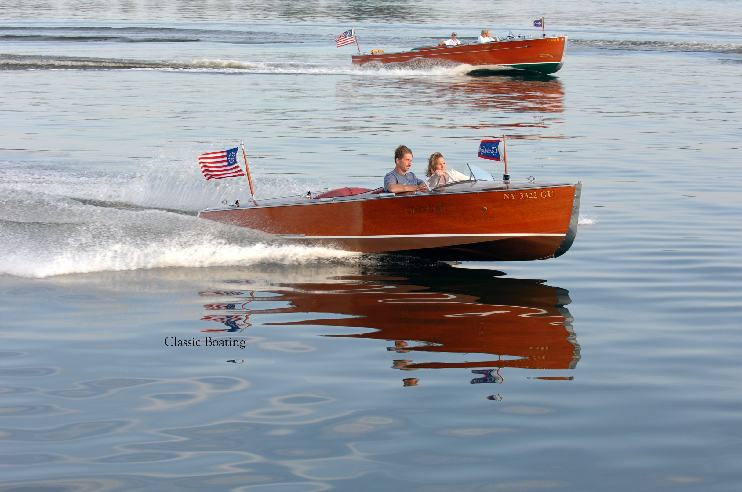 1942 chriscraft 17 special runabout classic wooden