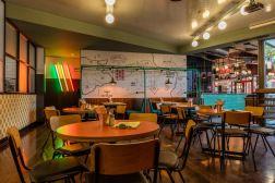 Draft house paddington designed by relic interiors london pub design industrial interior also pinterest rh