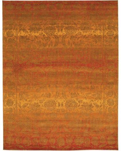 Carmela Terracotta Tibetan Rugs Fine