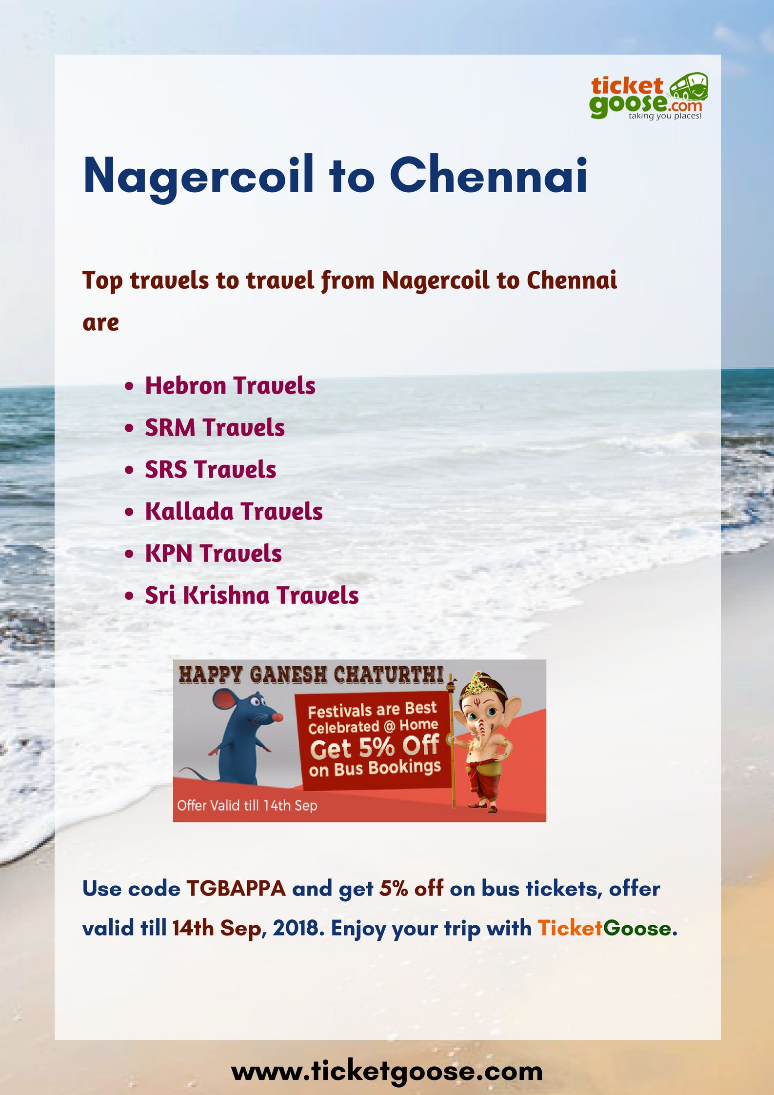 Pin By Ticketgoose On Srm Travels Bus Tickets Chennai Ticket