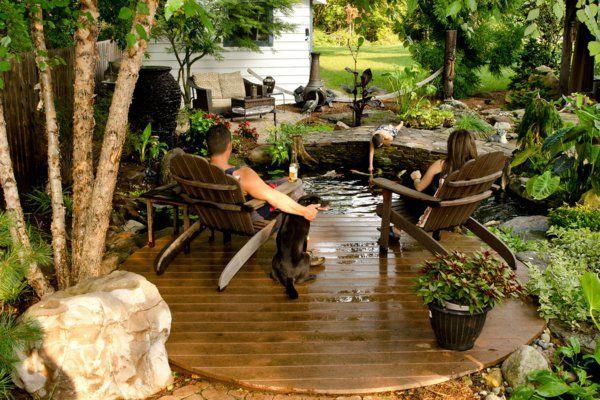 AuBergewohnlich Coole Wasser Garten Ideen   Wasser In Der Schönen Landschaft
