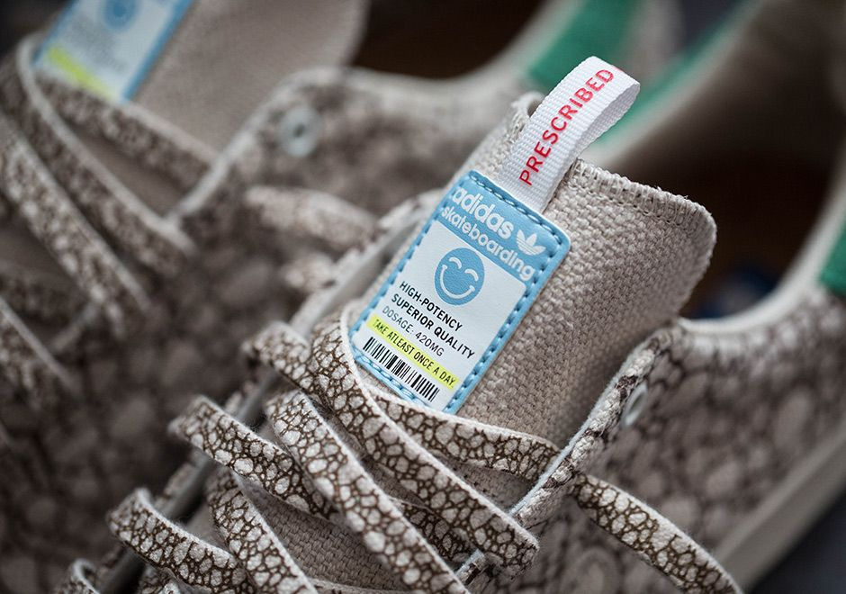 Cebo x Adidas Stan Smith Vulc 4 / 20 de marihuana Pinterest adidas