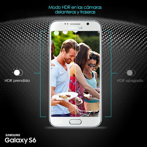 Usa el modo HDR para tomar fotos más ricas en color y detalle, justo como deberían de ser. #GalaxyS6