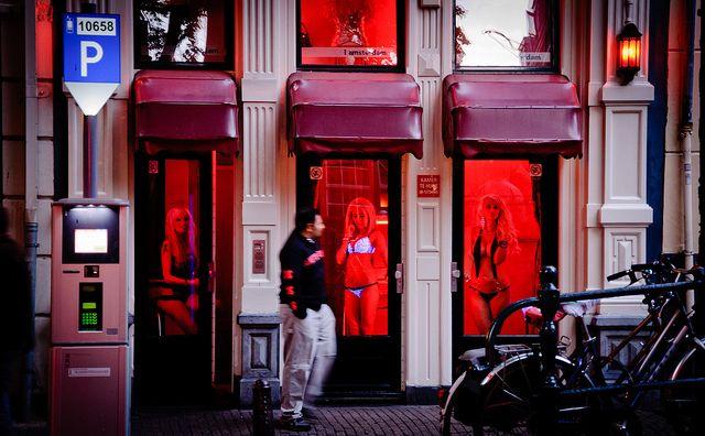 Amsterdam Red Light District Ladies Amsterdam Red Light
