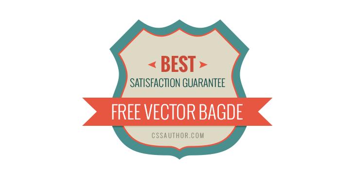 Badge Website satisfaction guarantee badge psd cssauthor com manoj