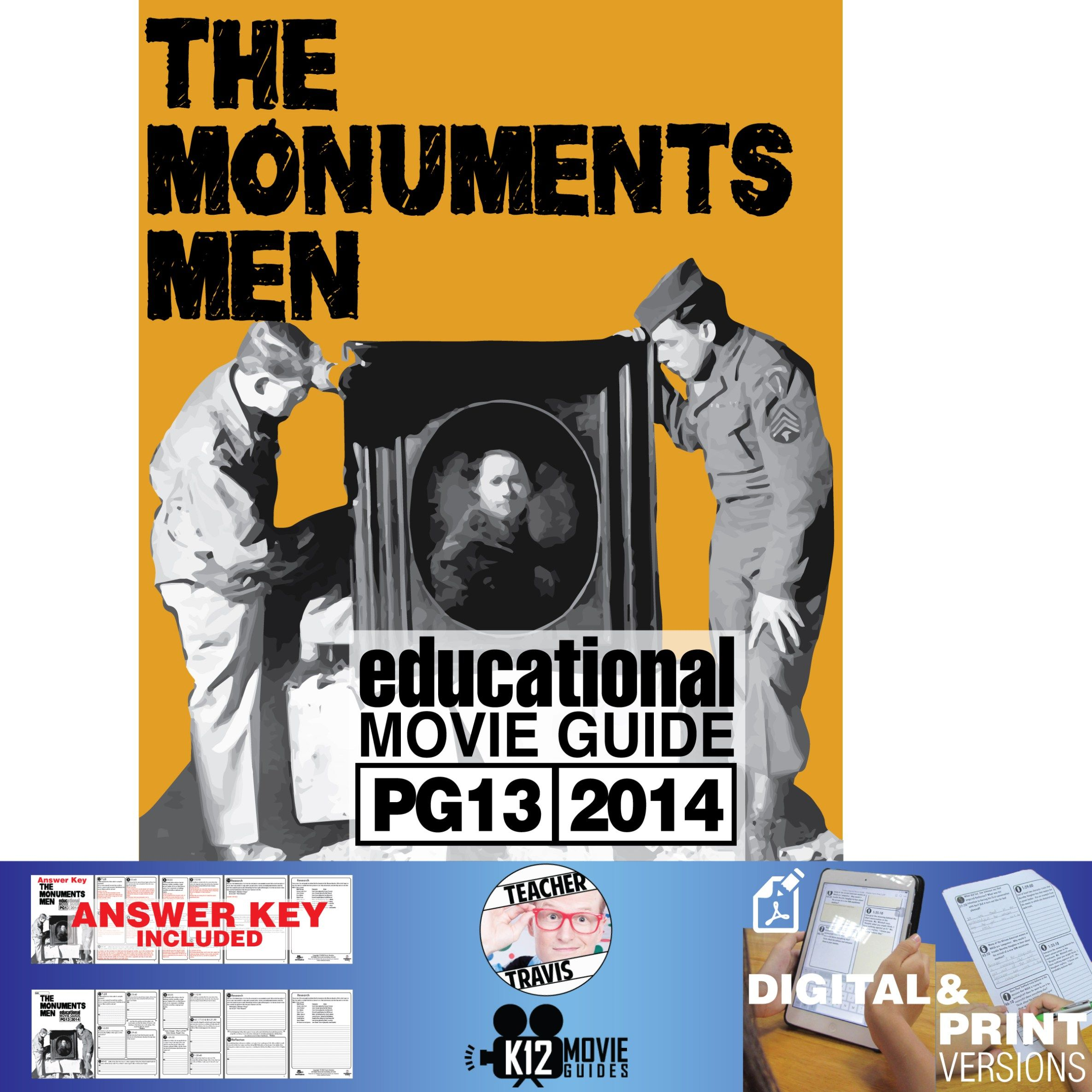 The Monuments Men Movie Guide