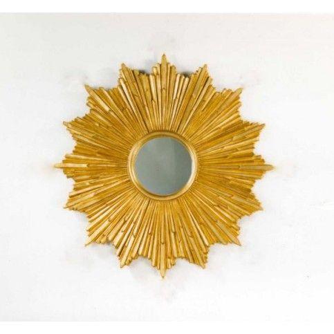 Carvers\' Guild Loretto Sunburst Wall Mirror in Gold | Decorative ...