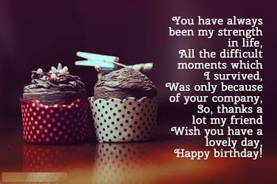 Short Birthday Wishes For Best Friend ~ Here you can find best collection of happy birthday wishes for