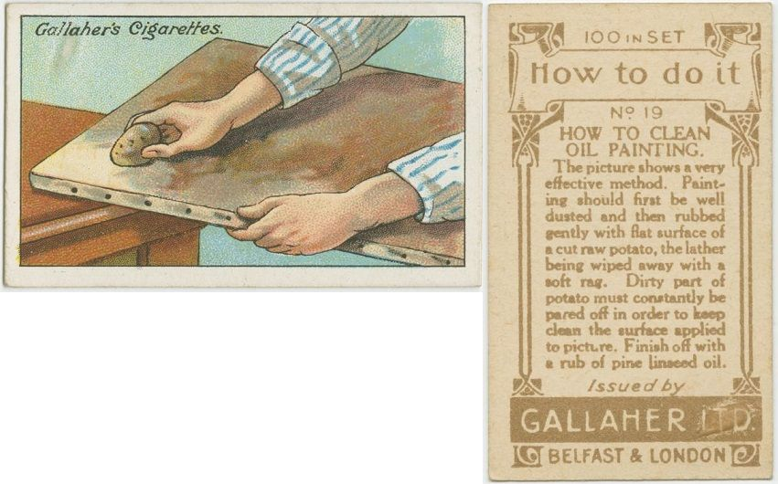 How To Clean Oil Painting Cards Paper Pack Oil Painting