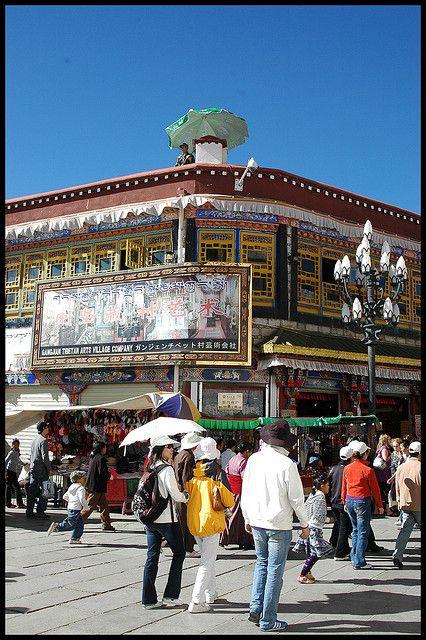 Barkor, Lhasa
