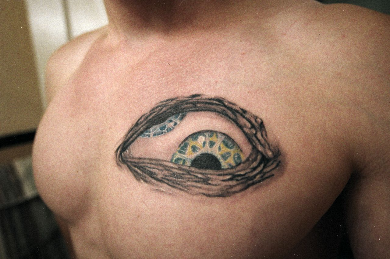Tool Third Eye Tattoo This tattoo was done on | Tool Band ...