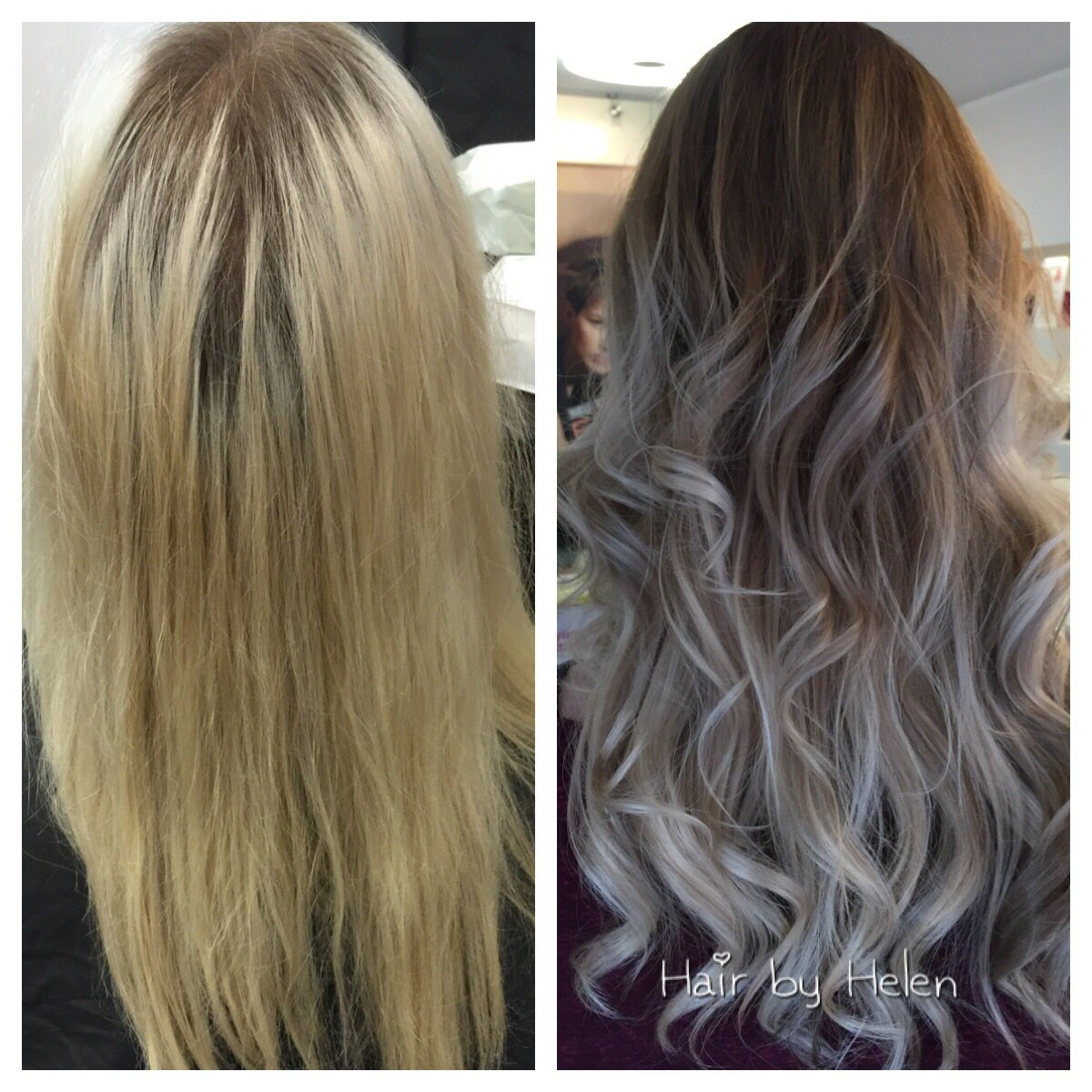 freelights Olaplex painting wella ralphlehmannfriseure longhair  before \u0026 after