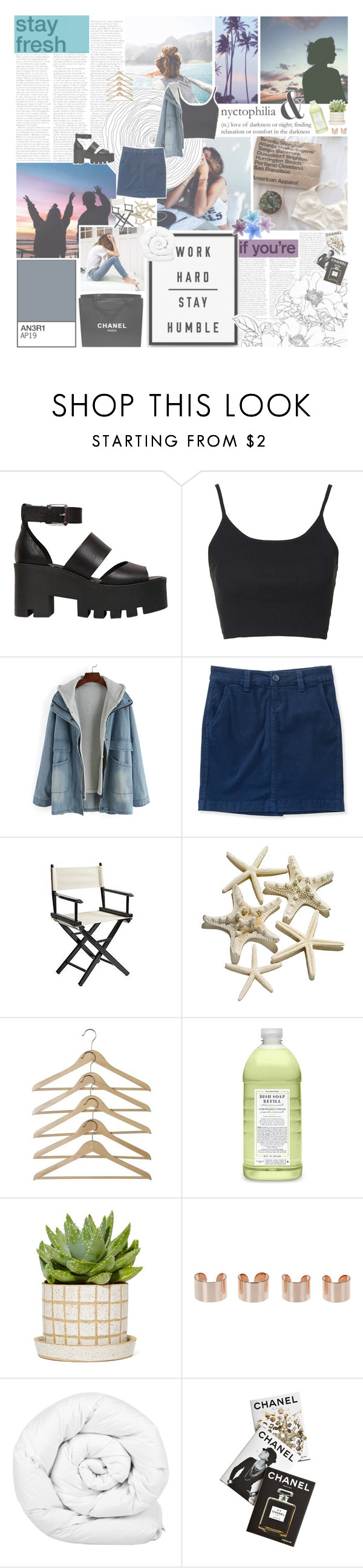 """""""≪ wave after wave"""" by xhopefulromanticx ❤ liked on Polyvore featuring Windsor Smith, Topshop, Aéropostale, Chanel, Pier 1 Imports, Williams-Sonoma, Maison Margiela, Brinkhaus and Assouline Publishing"""