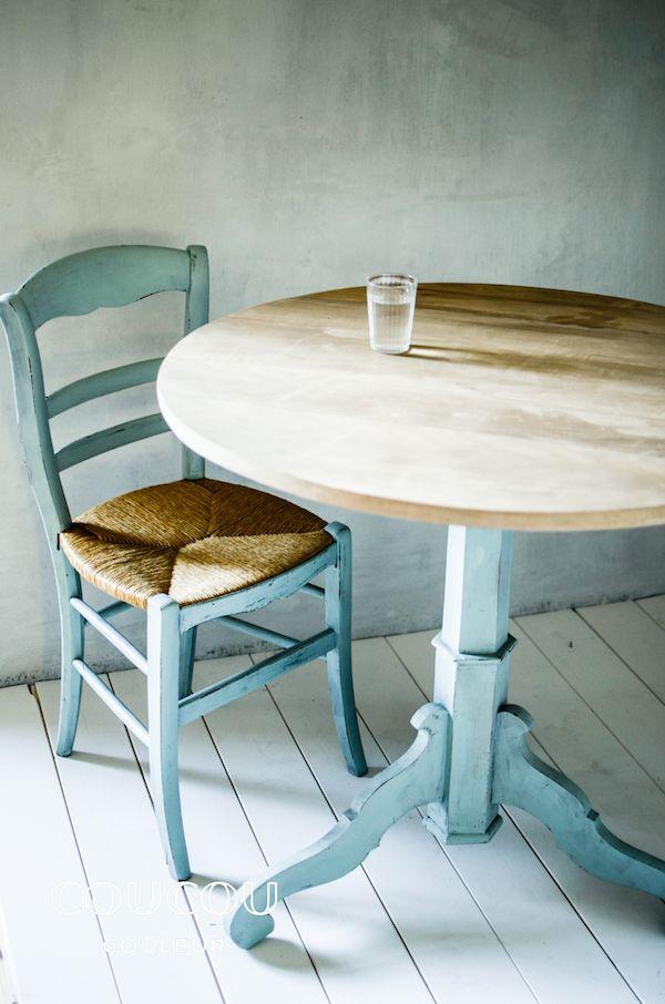 Mit natürlicher Kreidefarbe von Coucou Couleur gestaltet Ihr Eure - outdoor küche holz