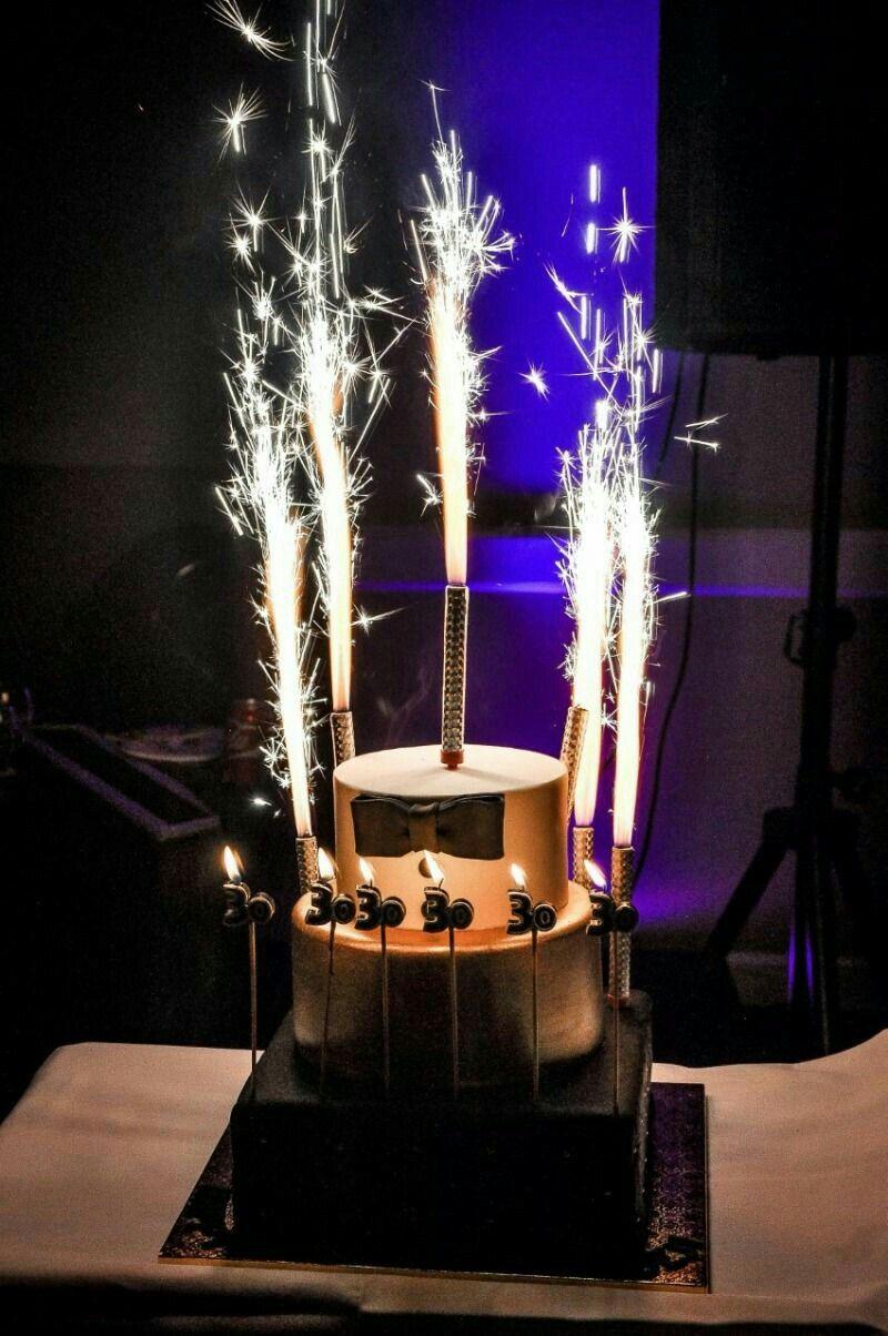 Pin by neelumyamin on BD Cake sparklers, Birthday cake