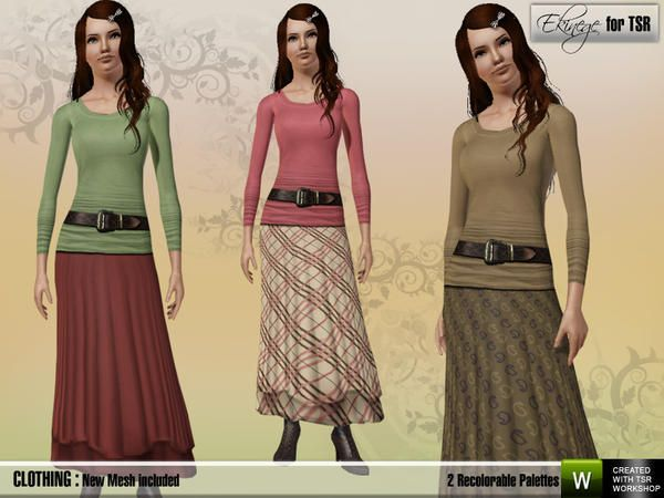 Ekinege - Casual Outfit - 1